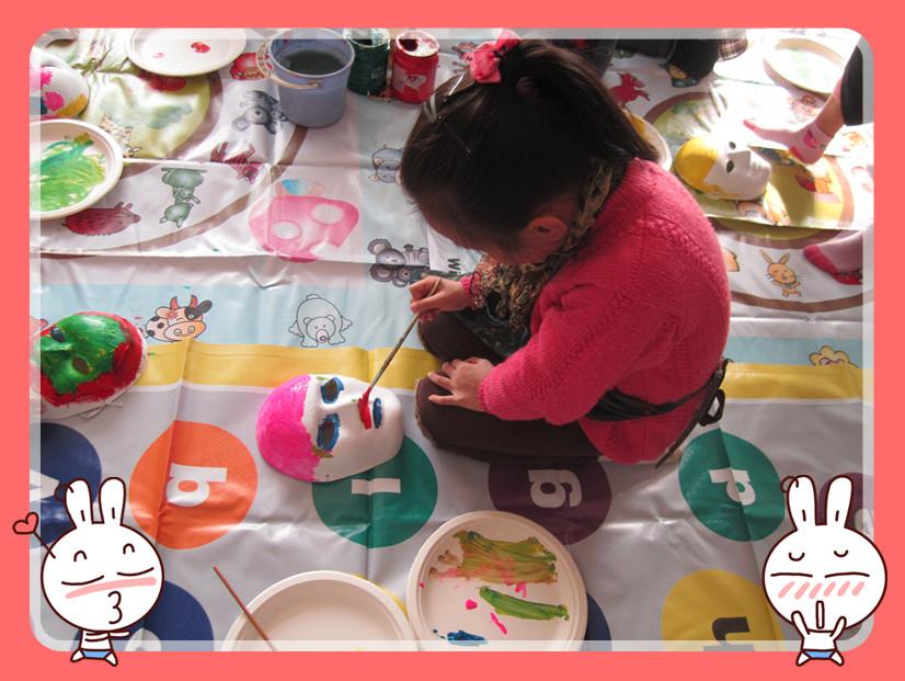 JALA画室 小朋友们的DIY彩绘面具